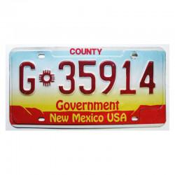Plaque d Immatriculation USA - New Mexico ( 591 )