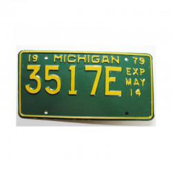 Plaque d Immatriculation USA - Michigan ( 679)