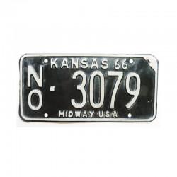 Plaque d Immatriculation USA - Kansas ( 675 )
