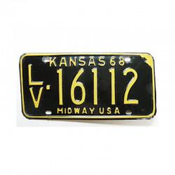 Plaque d Immatriculation USA - Kansas ( 674 )