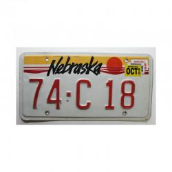 Plaque d Immatriculation USA - Nebraska  ( 669 )