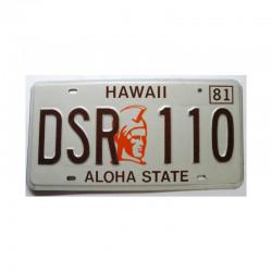 Plaque d Immatriculation USA - Hawaii ( 660 )