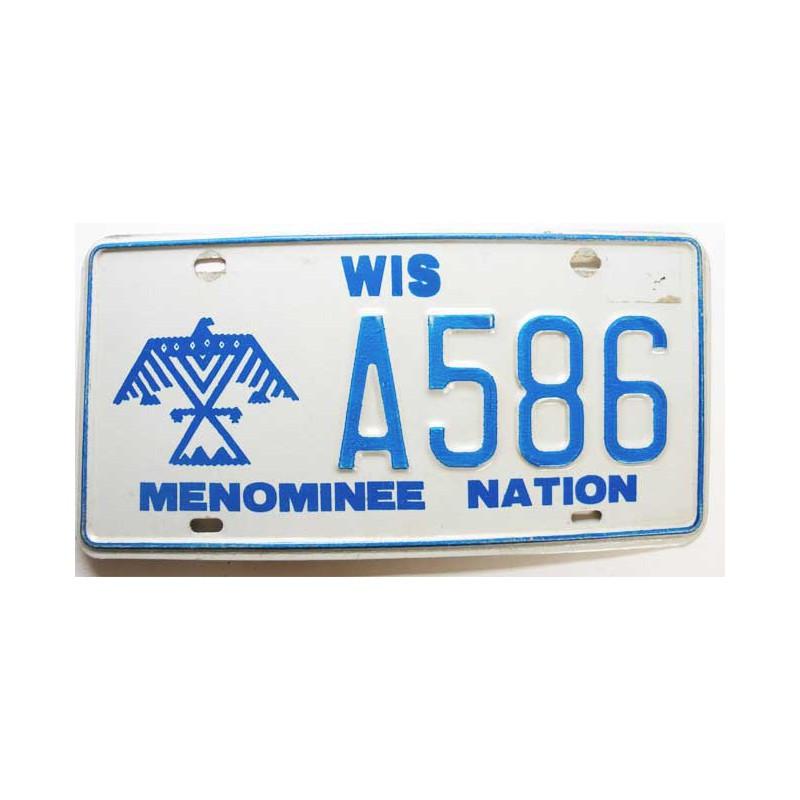 Plaque d Immatriculation USA - Wisconsin ( 708 )