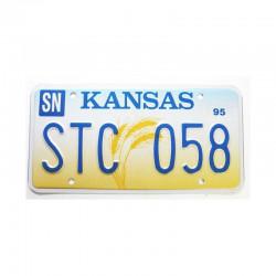 Plaque d Immatriculation USA - Kansas ( 700 )