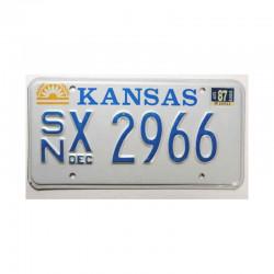 Plaque d Immatriculation USA - Kansas ( 699 )