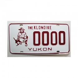 Plaque d Immatriculation  Canada Yukon ( 696 )