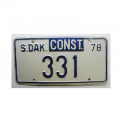Plaque d Immatriculation USA - South Dakota ( 690 )