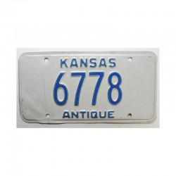 Plaque d Immatriculation USA - Kansas ( 685 )
