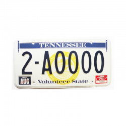 Plaque d Immatriculation USA - Tennessee ( 684 )