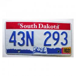 Plaque d Immatriculation USA - South Dakota ( 793 )
