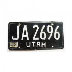 Plaque d Immatriculation USA - Utah ( 714 )