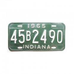 Plaque d Immatriculation USA - Indiana ( 710 )