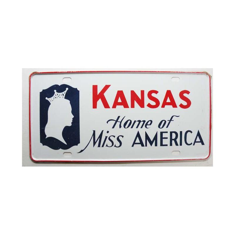 Plaque d Immatriculation USA - Kansas ( 709 )
