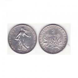 2 francs semeuse 1914 C argent ( 005 )