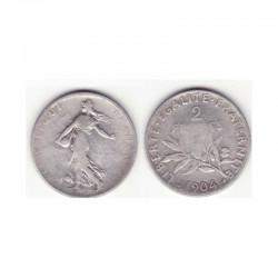 2 francs semeuse 1904 argent ( 001 )