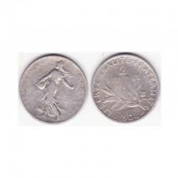 2 francs semeuse 1902 argent ( 001 )