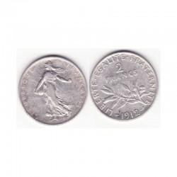 2 francs semeuse 1912 argent ( 004 )