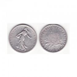 1 franc semeuse 1906 argent ( 001 )