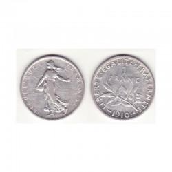 1 franc semeuse 1910 argent ( 001 )