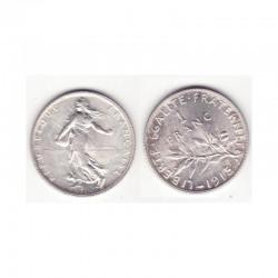 1 franc semeuse 1915 argent ( 002 )