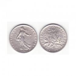 50 cents semeuse 1918 argent ( 003 )