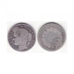 1 piece de 50 centimes Ceres Argent 1871 K ( 001 )