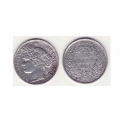 1 piece de 5 francs Ceres Argent 1851 A ( 001 )