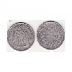 5 francs Hercule 1873 A argent ( 010 )