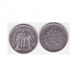 5 francs Hercule 1848 A argent ( 001 )