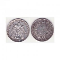 5 francs Hercule 1875 A argent ( 005 )
