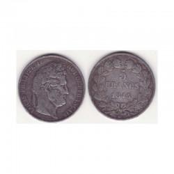 5 francs Louis Philippe 1845 W Argent ( 003 )