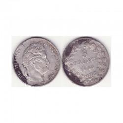5 francs Louis Philippe 1845 W Argent ( 002 )