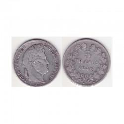 5 francs Louis Philippe 1840 A Argent ( 002 )