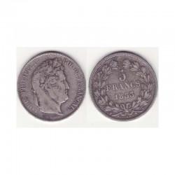 5 francs Louis Philippe 1833 W Argent ( 002 )