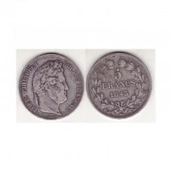 5 francs Louis Philippe 1843 W Argent ( 001 )