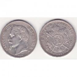 5 francs Napoleon III 1867 A argent ( 008 )