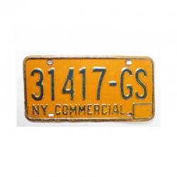 Plaque d Immatriculation USA - New York ( 729 )