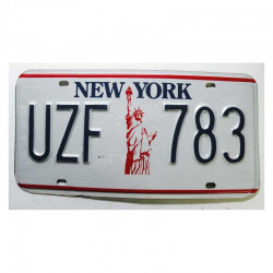 Plaque d Immatriculation USA - New York ( 728 )