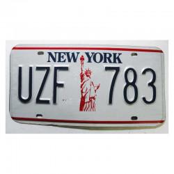 Plaque d Immatriculation USA - New York ( 728 )