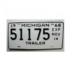 Plaque d Immatriculation USA - Michigan ( 726 )