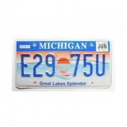 Plaque d Immatriculation USA - Michigan ( 725 )