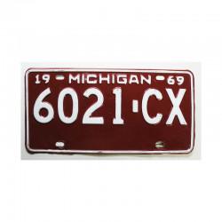 Plaque d Immatriculation USA - Michigan ( 723 )