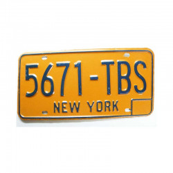 Plaque d Immatriculation USA - New York ( 721 )