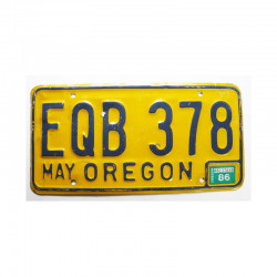 Plaque d Immatriculation USA - Oregon ( 745 )