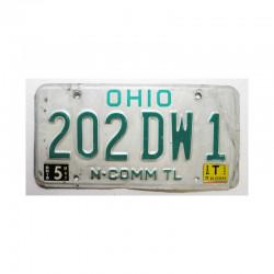 Plaque d Immatriculation USA - Ohio ( 740 )