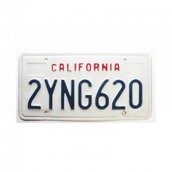 Plaque d Immatriculation USA - California ( 738 )