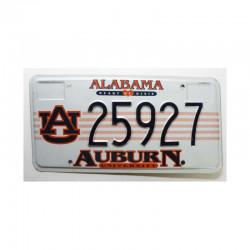 Plaque d Immatriculation USA - Alabama ( 736 )