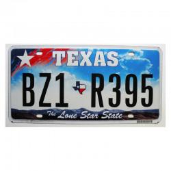 Plaque d Immatriculation USA - Texas ( 734 )