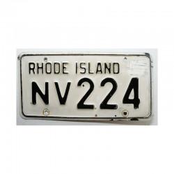 Plaque d Immatriculation USA - Rhode Island ( 732 )