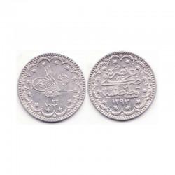 5 Kurush argent empire Ottoman 1293 ( 012 )